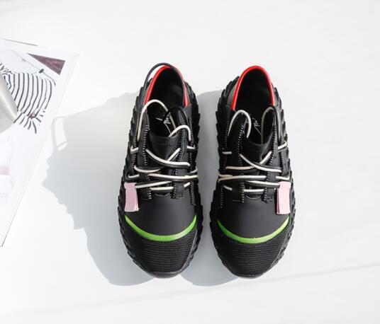 Mujer Lacets Marque Nouvelle Style Chaussures Picture À 2019 Cuir Décontractées Espadrilles Femme Pour Démissionnaire Couleurs Luxe As Picture Trois De as Mode Zapatos 46cBrAWaP6