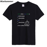 Warhammer Programmer Coding Tee Shirt Geek Style Casual Fit Men T Shirt U S Size Cotton