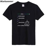 Warhammer Programmer Coding Tee Shirt Geek Style Casual Fit Men T Shirt U S Size Cotton