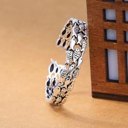 XIYANIKE Retro Small Fish Bracelet Creative Cute Fish Group Couple Bracelet Bohemian Style For Women Vintage Statement Jewelry