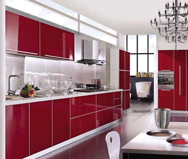 Del Rosso Mobili.Mobili Da Cucina Rosso