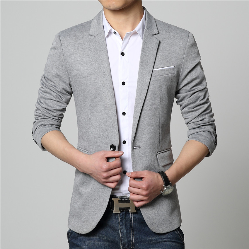 2015 Summer Style Luxury Business Casual Suit Men Blazers