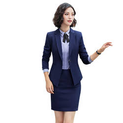 Профессиональный костюм набор инструментов Для женщин студент учитель интервью Услуги равномерное ПР костюм юбка спецодежды 12891