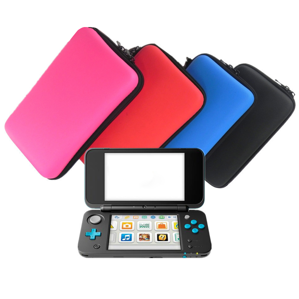 VPLAY 10PC/LOT EVA Hard Cover Protective Carry Case for Nintend new 2DS LL/XL Travle Carry Case & 8 Game Card Storage Loctions