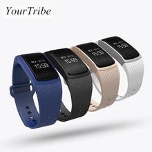 Yourtribe новые Сенсорный экран A09 Смарт часы браслет артериального давления сердечного ритма Мониторы шагомер Фитнес смарт-браслет