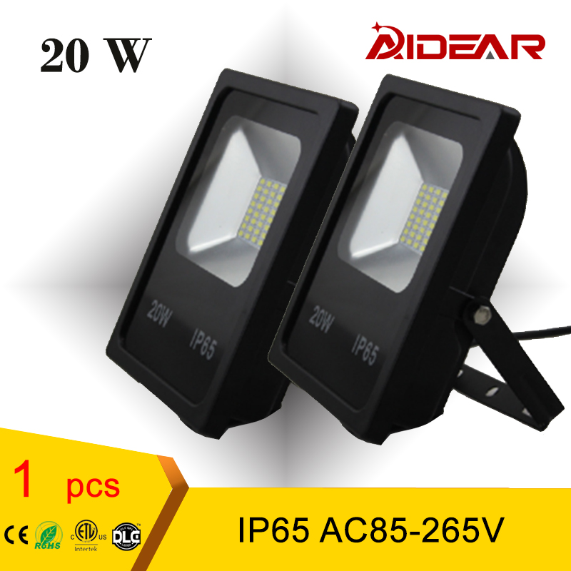 20w Flood light Waterproof Led Spotlight outdoor garden landscpe reflector Floodlights AC85-265V IP65