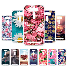 3D DIY Soft Silicon Case For Asus Zenfone 2 Laser Case Coque For Asus Zenfone2 Laser ZE500KL ZE550KL Cover Case Back Bag Fundas(China)