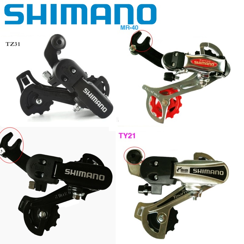 Shimano TZ31 Bolt Type Rear Derailleur 6 7 Speed Mountain Bike MTB
