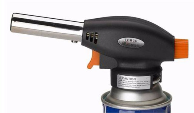 chalumeau souder gaz butane torche flamme pistolet d 39 allumage automatique coup jet br leur. Black Bedroom Furniture Sets. Home Design Ideas
