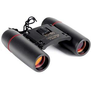 Image 5 - Открытый Туризм Путешествия ночное видение широкоугольный окуляр профессиональный телескоп складной бинокль с низким освещением ночного видения