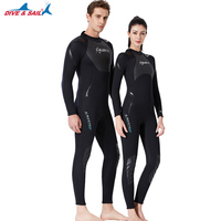 Neoprene One piece Wetsuits 3MM Dive Skins Outdoor Equipment Water Sports Wet Jump Suits Swimwear Wetsuit Winter For Women & Man