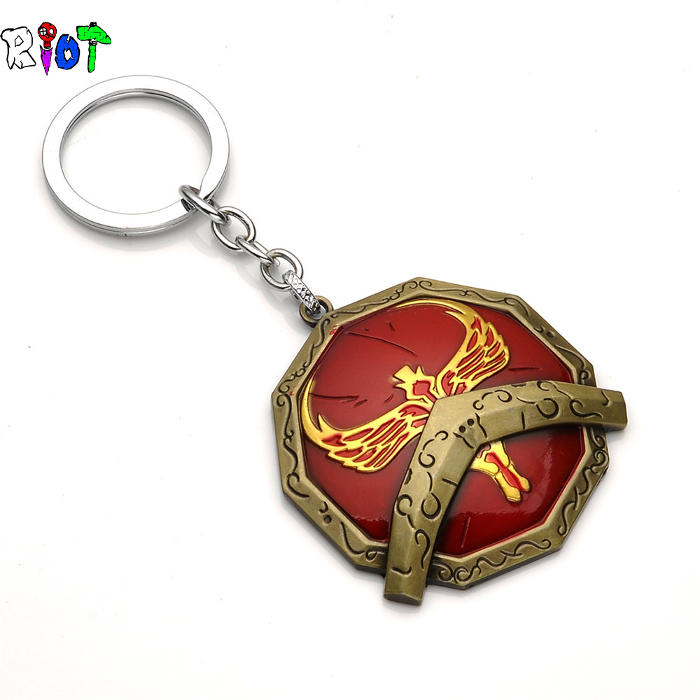 Porte Clefs Cles Cle  League Of Legends LOL  Keychain Keyring Key Llavero