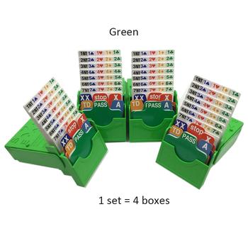 Zestaw 4 różnych kolorów do wyboru most karty do gry z pole i most karty do gry razem grać w licytacji Tournment tanie i dobre opinie 14 lat Książka Zaawansowane BLINKMOTH Papier NO 1 31-60 minut Sportowe kategoria Normalne Bidding box 300 gsm white core paper