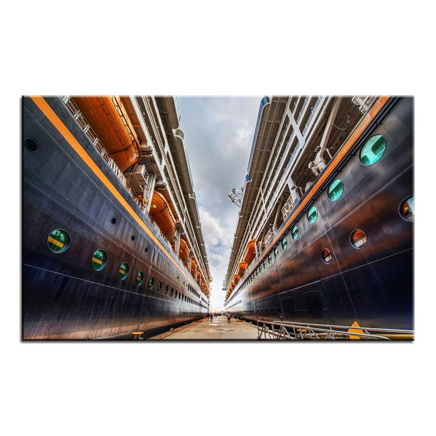 ᐂImpresión de gran tamaño pintura al óleo nueva moda cruceros pared ...