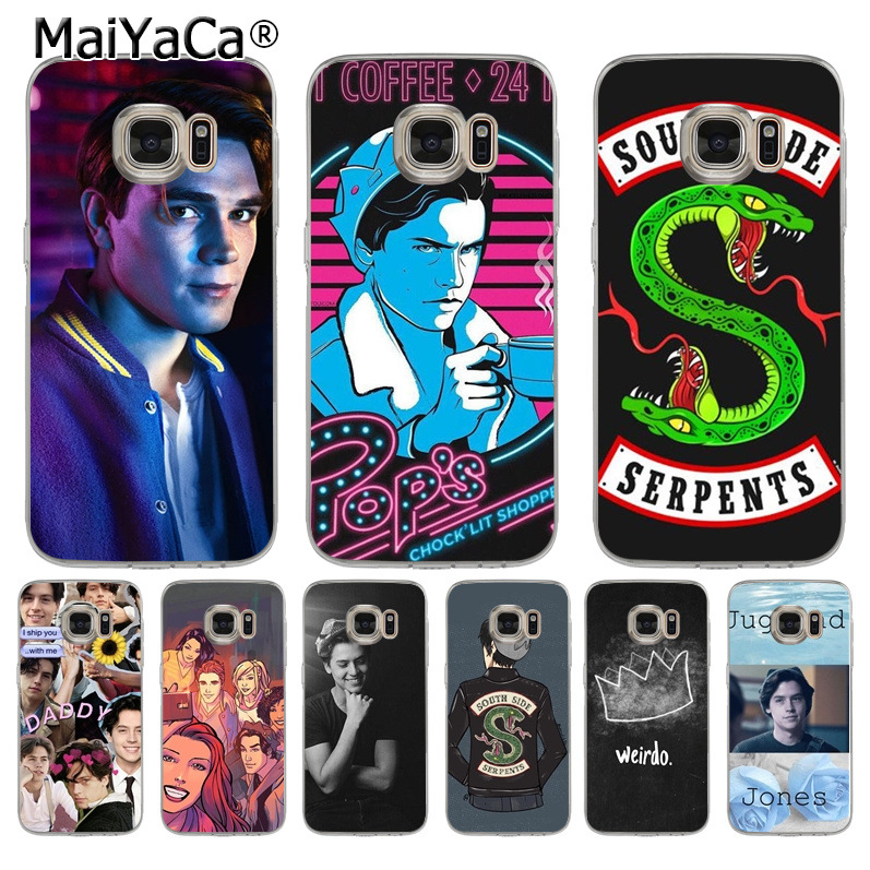 MaiYaCa TV Riverdale Coque Shell Phone Case for Samsung S5 S6 S7 Edge S8 Plus S6 Edge Plus S3 S4