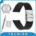19mm 20mm 21mm 22mm 23mm 24mm padrão de malha faixa de relógio de borracha de silicone para armani resina pulseira de pulso pulseira cinto