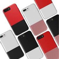 Trasporto Splice Cassa Del Telefono Per il iphone 7 Caso 7 s 2 IN 1 Dura del PC Copertura Del Telefono Cellulare 7g Shell NEWOER