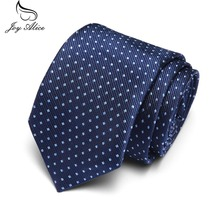 2019 New Fashion Plaid dots Man Tie for wedding Business Male tie Mens casual slim ties Classic polyester woven party Neckties