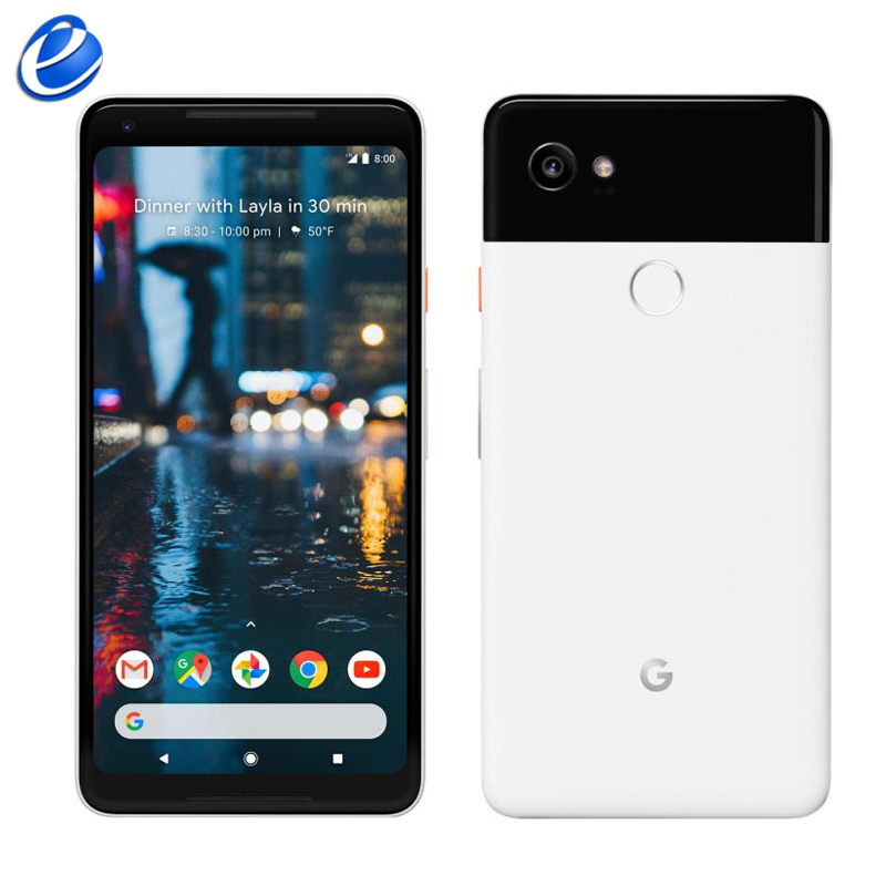 Original Unlocked Google Pixel 2 XL 6.0'' Inch 4G LTE Android 4GB RAM 64GB 128GB ROM