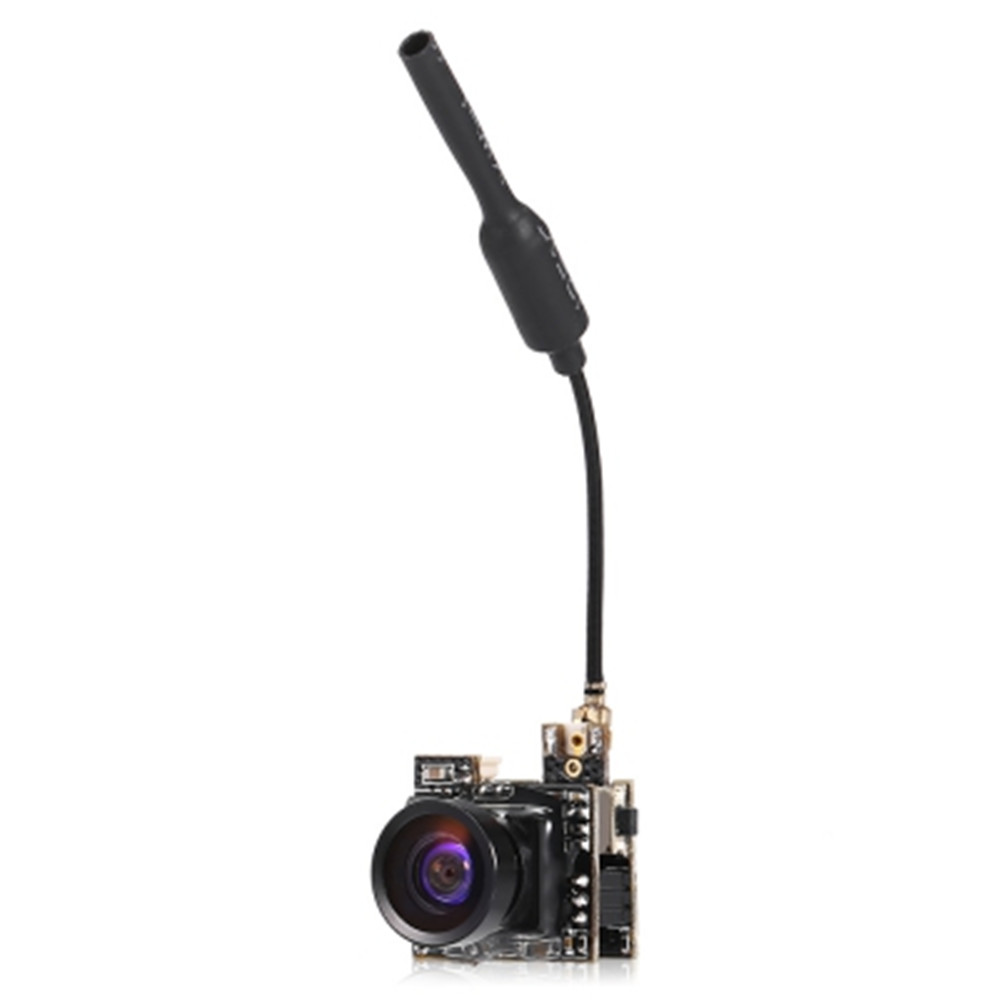 New LST - S2 5.8G 800TVL HD Micro CMOS FPV Camera 150-Degree Angle Of View 3.6g Ultralight NTSC / PAL Switchable aomway 700tvl hd 1 3 cmos fpv camera pal