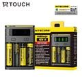 18650 Nitecore i4 Carregador de Bateria Usb para Smart DiGi 26650/22650/18650/18490/18350/17670/17500/16340/14500/10440