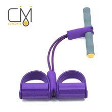COREMATE Resistance Bands Pedal Exerciser Fitness Equipment Crossfit Yoga Training Pilates Latex Legs Expander Pull Rope Gym Men
