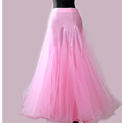 Costume de danse Flamenco jupe longue salle de bal danse moderne Standard valse danseuse robe espagne LXQ204