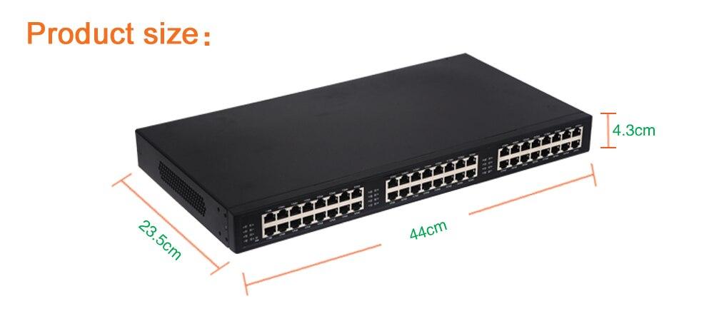 24 порт 10/100/1000 Мбит стандарт Инжектор PoE PSE POE, 802.3af/AT стандартные, pin1, 2 (+)/3,6 ( ) Средний span