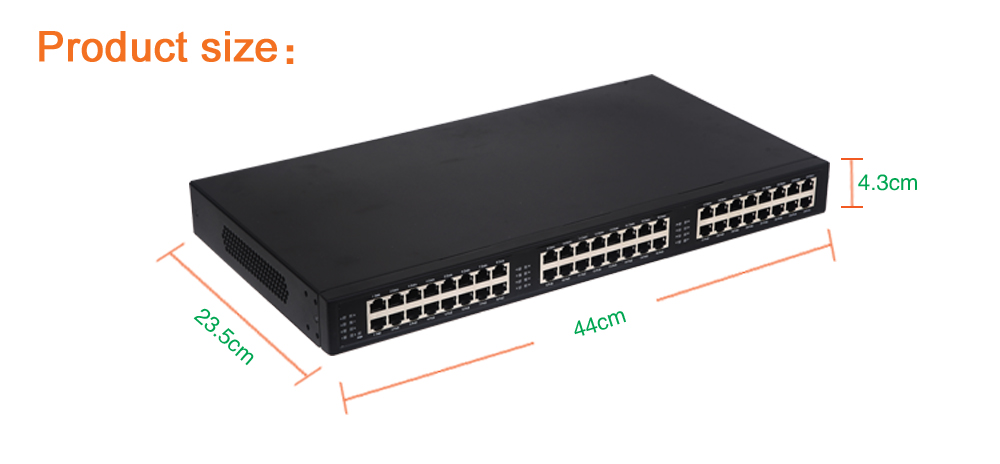 цена 24 port 10/100/1000Mbps standard PoE Injector PSE PoE,802.3af/at standard ,pin1,2(+)/3,6(-) Middle Span