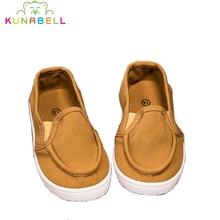 Children Casual Canvas Shoes 2017 New Spring Baby Boys Breathable Sneakers Girls  Slip-on Flats Toddlers Single shoes C393