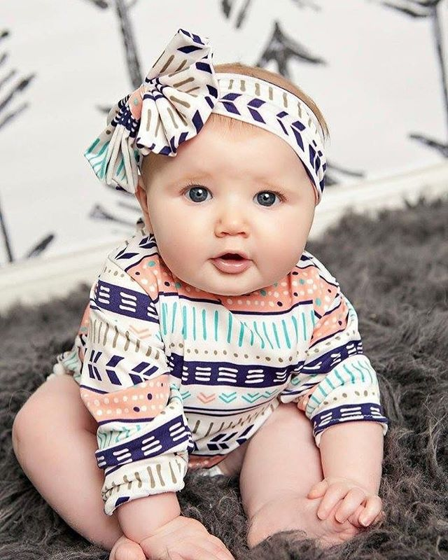 Bodysuit Baby Body Baby Top Fashion Rushed Striped Boomers Fan Folk Style Summer Kazakhstan Clothing Climb Clothes Bodysuit
