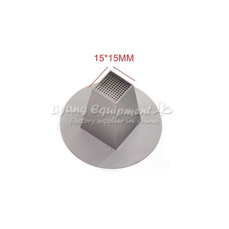 Universal hot air nozzles 15mm 20mm 25mm 30mm 35mm 45mm 50mm 55mm 75mm 120mm for bga rework station bottom base diameter 60mm