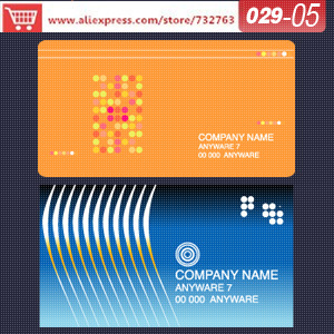 Aliexpress.com : Buy 0029 05 business card template for copper ...