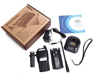 Image 5 - Baofeng UV 82 walkie talkie 10km dual PTT two way wireless dual band handheld portable UV 82 transceiver
