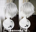2016 New Tokyo Ghoul Kaneki Ken Wig Short Straight Silver White Color Cosplay Costume Wigs