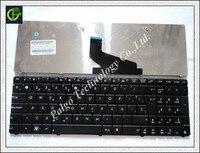 สเปนแป้นพิมพ์สำหรับASUS K53U K53Z K53B K53BR X53BY K53T K53BY K53TA K73BY K73T K73B K73TA X73BสีดำSPละตินLA T Eclado