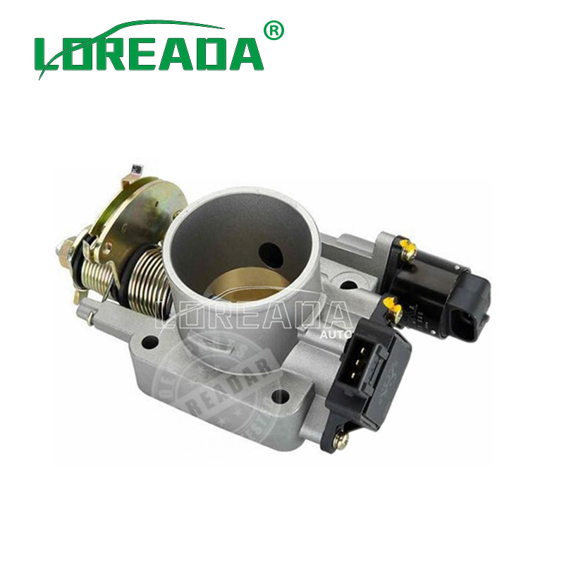 LOREADA Mechinal Throttle Body Assembly For UAES system Engine displacement Geely 1000cc Bore size 40mm Throttle valve new throttle body valve 1450a033 for mitsubishi l200