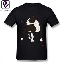 Bull Terrier T Shirt ENGLISH BULL TERRIER T-Shirt Funny 6xl Tee Mens Cotton Graphic Casual Short Sleeve Tshirt