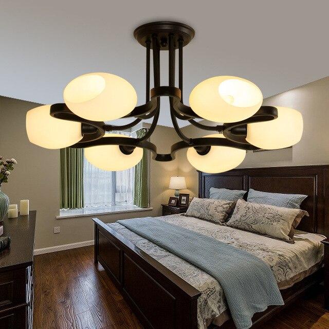 Hersteller Großhandel Land Eisen Amerikanischen Wohnzimmer Esszimmer  Hotelzimmer Lounge Retro Amerikanischer Kronleuchter