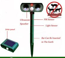 2018 New Technology Solar Electronics Repeller Ultrasonic Snake Infrared Induction Ultrasonic Repellers Outdoor Anti-animals dev