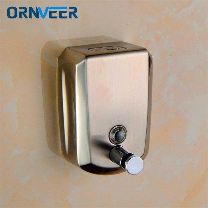 Distributeurs de savon liquide de haute qualité distributeur mural 800 ml pour savon distributeur de savon salle de bain moderne Lotion de douche shampooing distributeur de savon