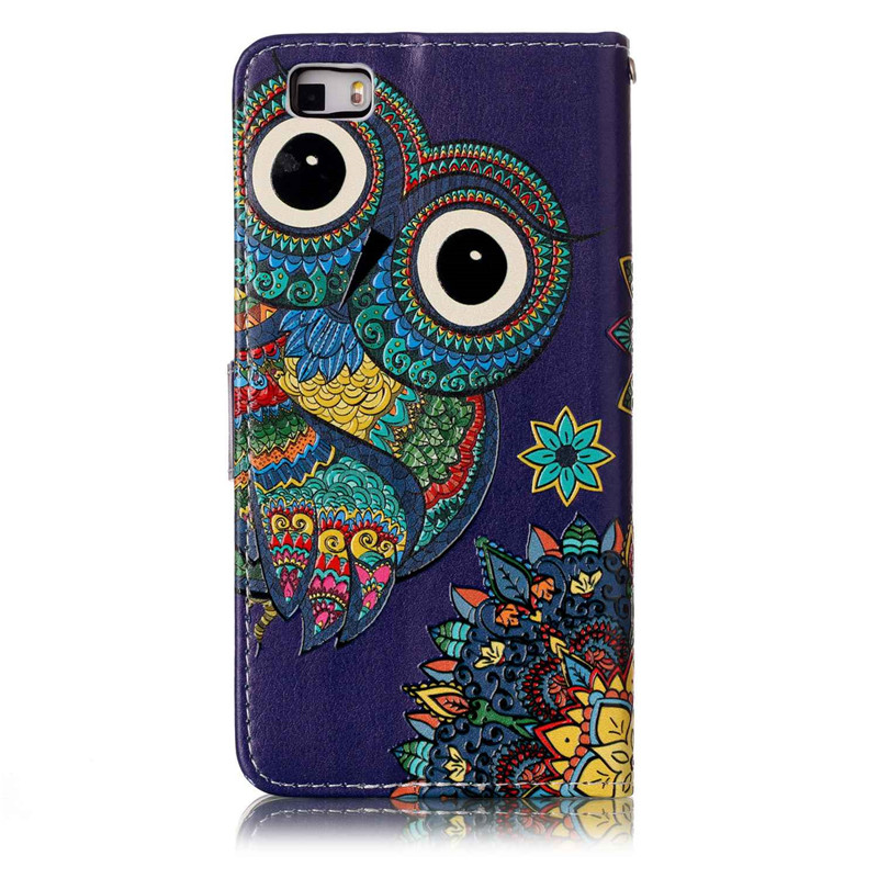 Case Huawei P8 Lite P8 Lite Funda PU Leather Cover Flip Wallet Stand Case Huawei P8 Lite Card Holder Luxury Phone Case
