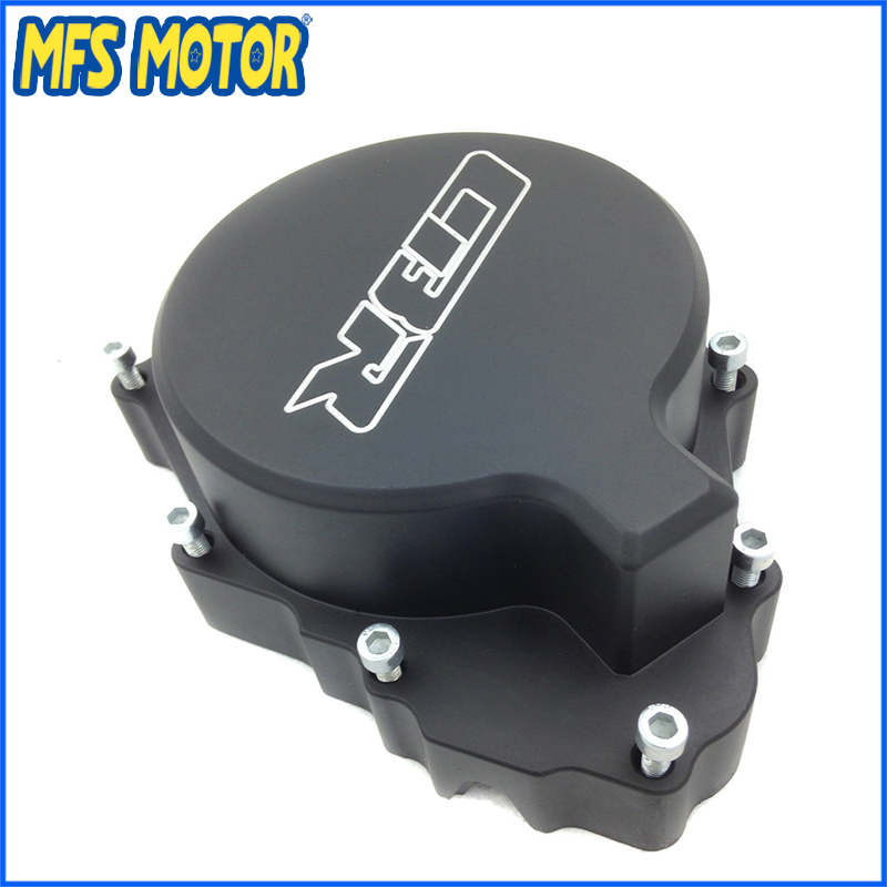 Freeshipping Motorcycle Left Engine Stator cover For Honda CBR600RR F4/F4i All Year 1999 2000-2006 Black aftermarket free shipping motorcycle parts motor engine stator cover honda cbr600rr f4 f4i 1999 2006 left black