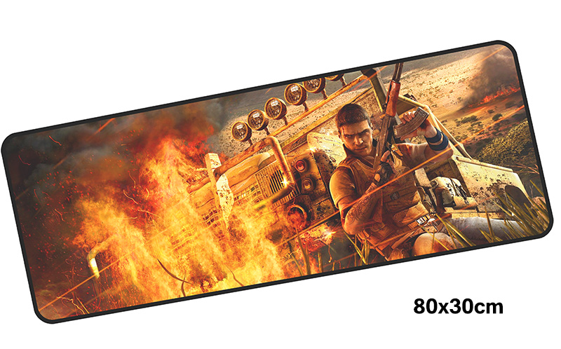 far cry mousepad gamer 800x300X3MM gaming mouse pad large cool notebook pc accessories laptop padmouse ergonomic mat