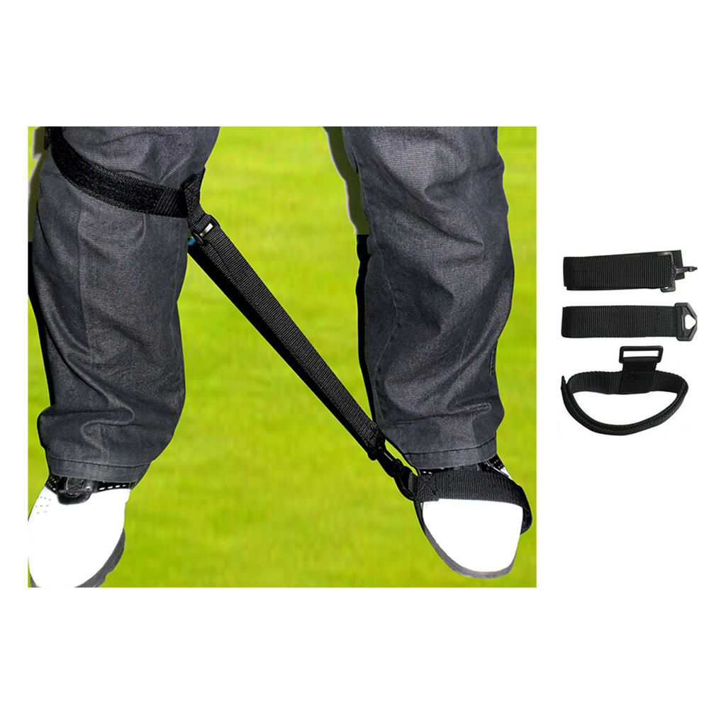Golf Training Aid Golf Leg Strap For Golf Beginners, Golf Swing Training