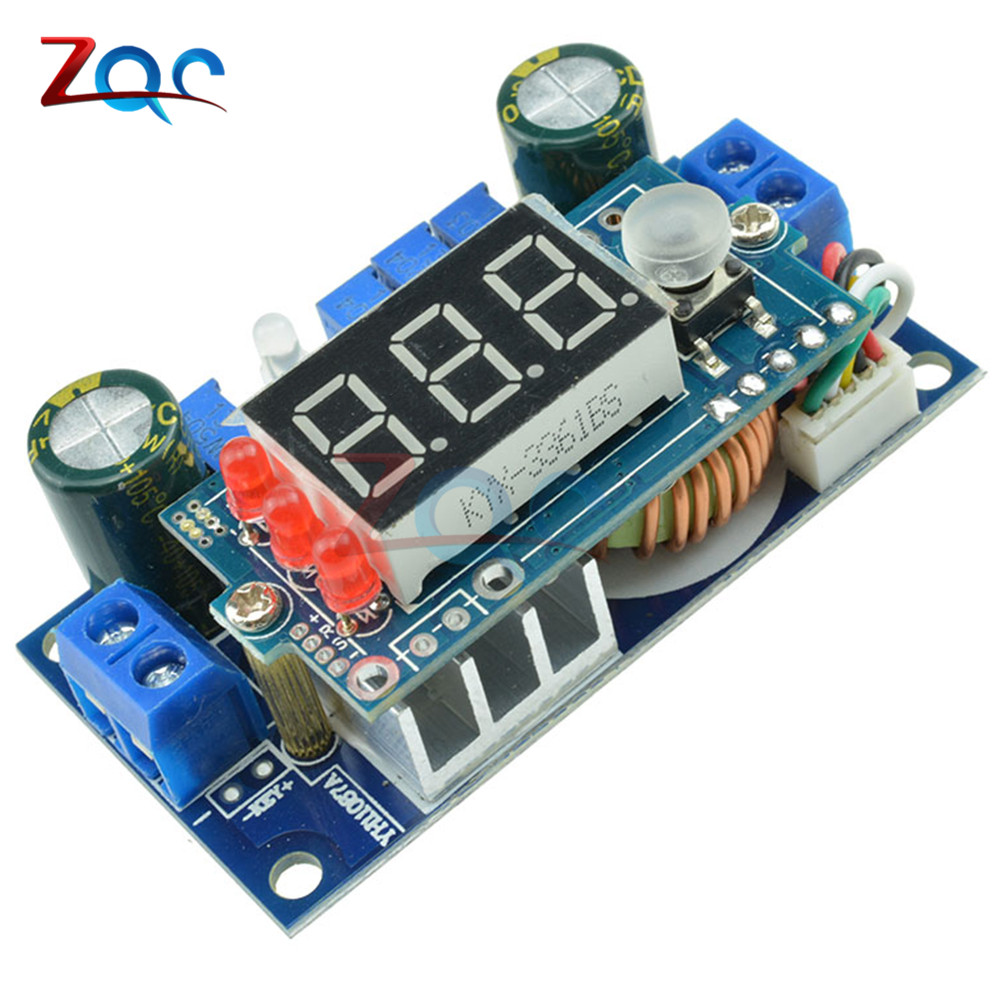 купить 5A MPPT Solar Controller DC-DC Step down Buck Module Digital CC CV Battery Charging Module 6-36V With LED Digital Display по цене 407.31 рублей