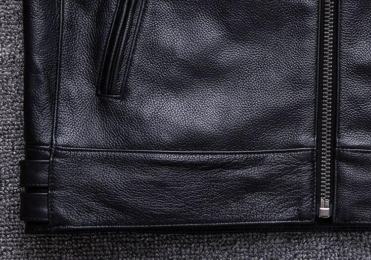 HTB1NgAvaozrK1RjSspmq6AOdFXa6 Brand new style motor style leather jacket,mens genuine leather coat.plus size black slim jacket.cowhide.cheap
