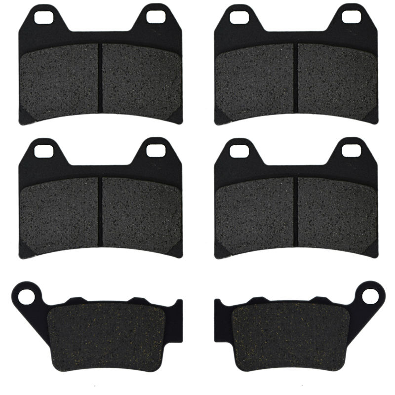 For BMW F 800 R F800 R F800R Chris Pfeiffer Edition 2009 2010 2011 F 800 ST Touring 2010-2012 Motorcycle Brake Pads Front Rear