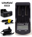 Зарядное устройство LiitoKala для аккумуляторов 18650  с ЖК-дисплеем  для 18650  26650  14500  10440  17500  1 2 В  AA  AAA  никель-металлогидридная аккумуляторная бата...