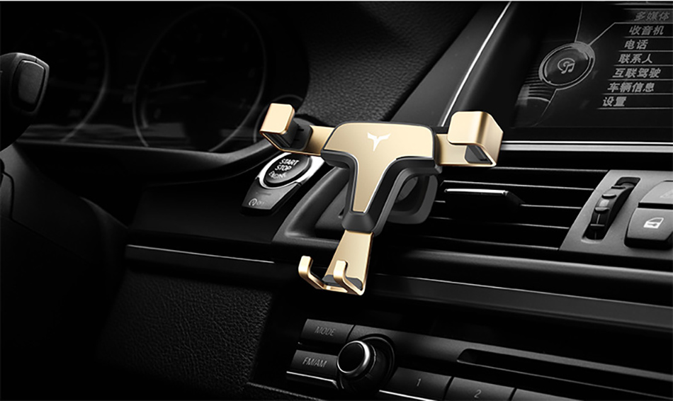!ACCEZZ 360 Air Vent Mount For Huawei P20 iPhone 8 7 6 6s Plus Xiaomi 5 Samsung S8 S9 Degree Adjustable Gravity Car Phone Holder (19)